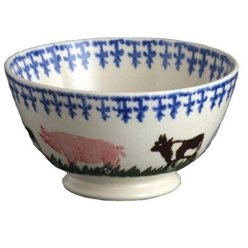 Brixton Pottery Brixton Pottery Farm Animals Serving Bowl