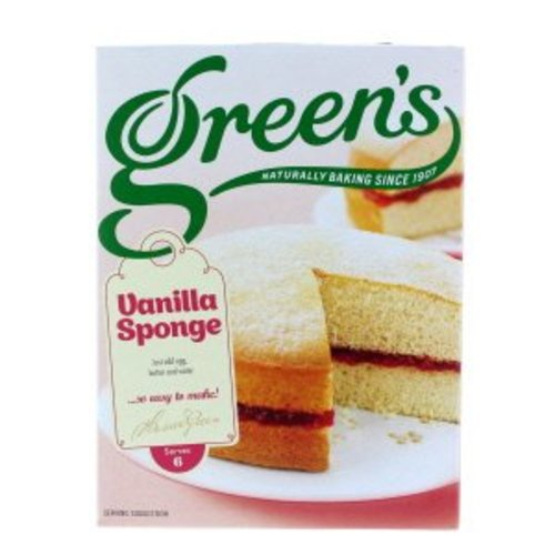 Green's Vanilla Sponge Box Mix