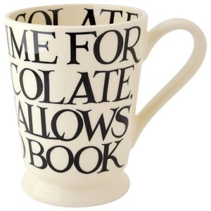 Emma Bridgewater Bridgewater Black Toast All Over Cocoa Mug