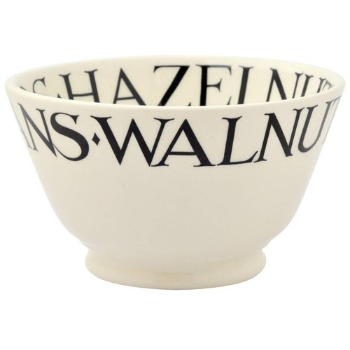 Emma Bridgewater Bridgewater Black Toast Nuts Old Bowl
