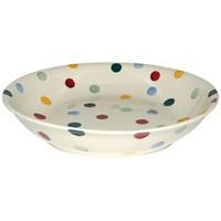 Polka Dot Medium Pasta Bowl