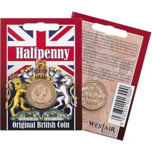 Westair Reproductions - Elizabeth II Half-Penny Coin Pack