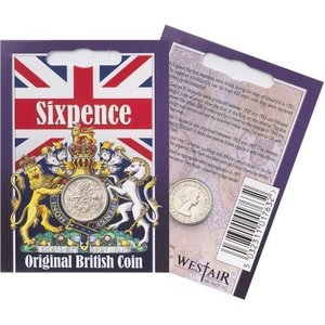 westair Westair Reproductions - Elizabeth II Sixpence Coin Pack