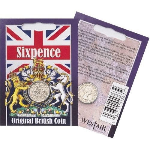 Westair Reproductions - Elizabeth II Sixpence Coin Pack