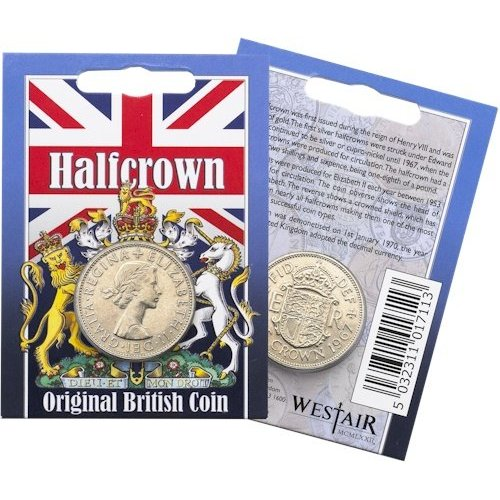 Westair Reproductions - Elizabeth II Half Crown Coin Pack