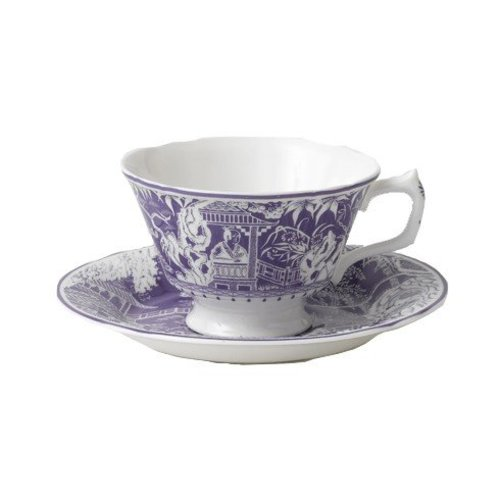 Royal Crown Derby Royal Crown Derby Mikado Lavender Teacup & Saucer