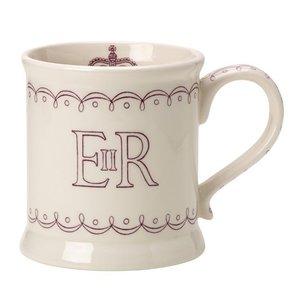 Burleigh Pottery Burleigh Queen's 90th Birthday Mug