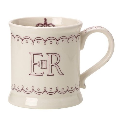 Burleigh Pottery Burleigh Queen's 90th Birthday Mug