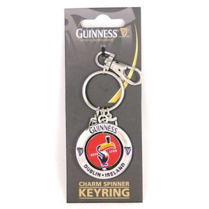 Guinness Guinness Charm Spinner Keyring