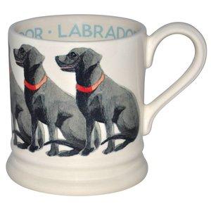Emma Bridgewater Bridgewater Black Labrador 1/2 Pint Mug