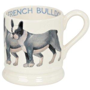 Emma Bridgewater Bridgewater 1/2 Pint Dogs Mug - French Bull Dog