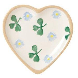 Nicholas Mosse Nicholas Mosse Clover Heart Plate