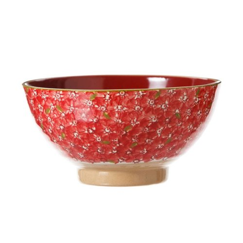 Nicholas Mosse Nicholas Mosse Red Lawn Vegetable Bowl