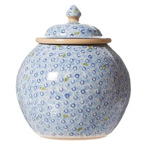Nicholas Mosse Nicholas Mosse Light Blue Lawn Cookie Jar