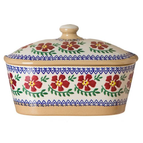 Nicholas Mosse Nicholas Mosse Old Rose Covered Butter Dish