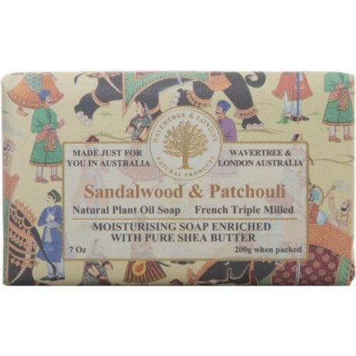 Wavertree & London Wavertree & London Sandalwood & Patchouli Soap