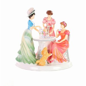 English Ladies Figurines English Ladies Co. Time for Tea