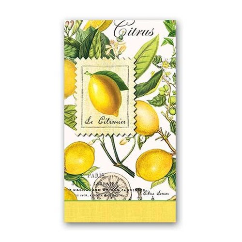 Michel Design Works Michel Lemon Basil Hostess Napkins