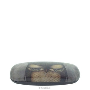 Santoro London Grumpy Owl Glasses Case