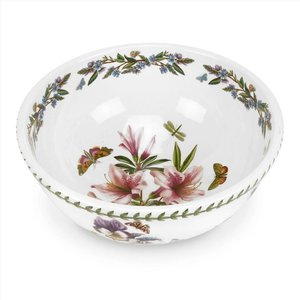 "Portmeirion Botanic Garden 11"" Salad Bowl - Lily Flowered Azalea"
