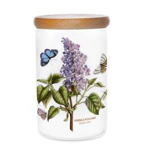 Portmeirion Botanic Garden 7 Inch Airtight Canister - Garden Lilac