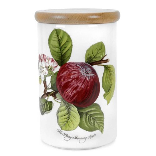 Portmeirion Portmeirion Pomona Medium Airtight Canister - Apple