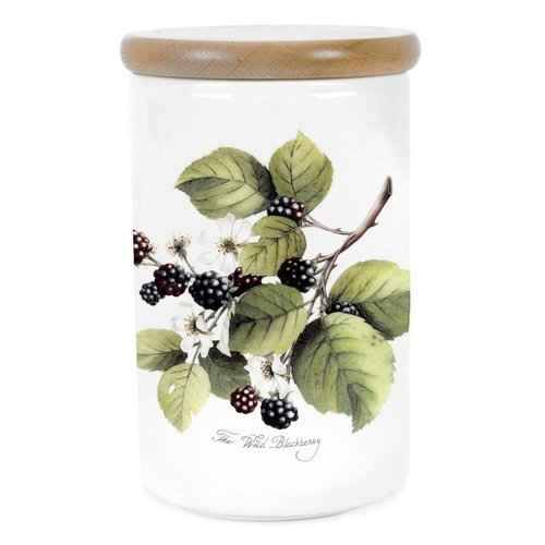 Portmeirion Portmeirion Pomona Large Airtight Canister - Blackberry