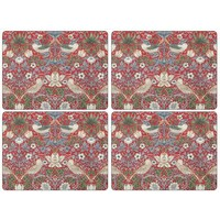 Pimpernel Strawberry Thief (Red) Placemats