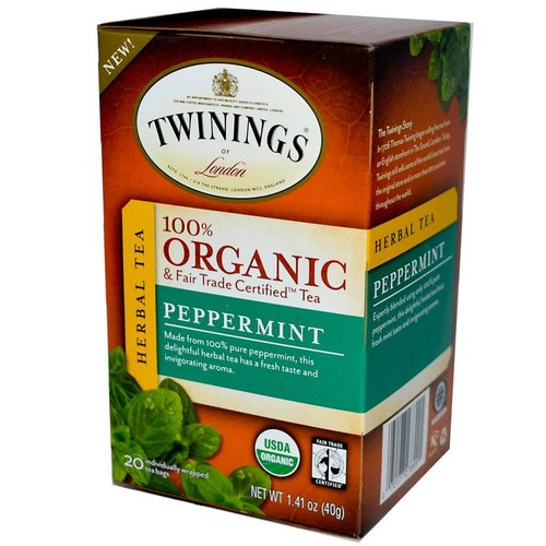 Twinings Twinings 20 CT Organic Peppermint Herbal