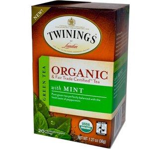 Twinings Twinings 20 ct Organic Green Tea with Mint