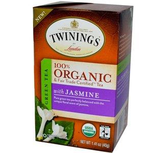 Twinings Twinings 20 CT Organic Green Tea with Jasmine