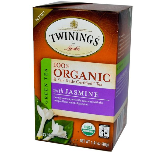 Twinings Twinings 20 CT Organic Green Tea with Jasmine