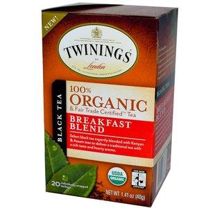 Twinings Twinings 20 ct Organic Breakfast Blend