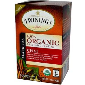 Twinings Twinings 20 CT Organic Chai