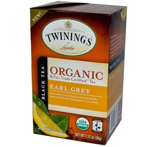 Twinings Twinings 20 CT Organic Earl Grey