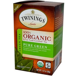 Twinings Twinings 20 CT Organic Pure Green