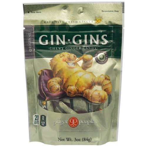 Gin Gins Chewy Ginger Candy