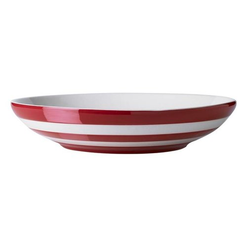 Cornishware Cornishware Pasta Bowl 9.25 in. - Red