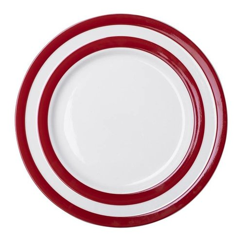 Cornishware Cornishware Main Plate 11 in. - Red