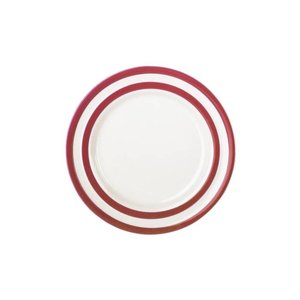 Cornishware Cornishware Side Plate 6.75 in. - Red