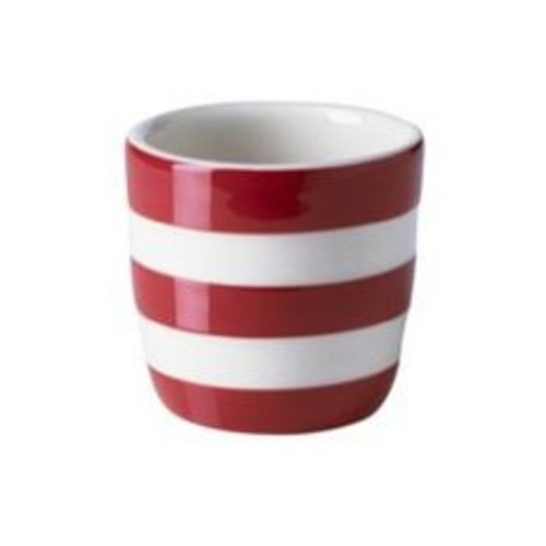 Cornishware Cornishware Straight Egg Cup - Red