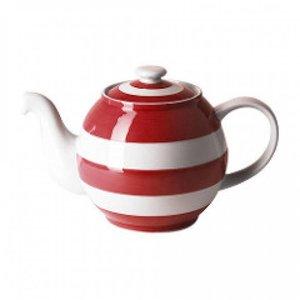 Cornishware Small Betty Teapot 18oz - Red
