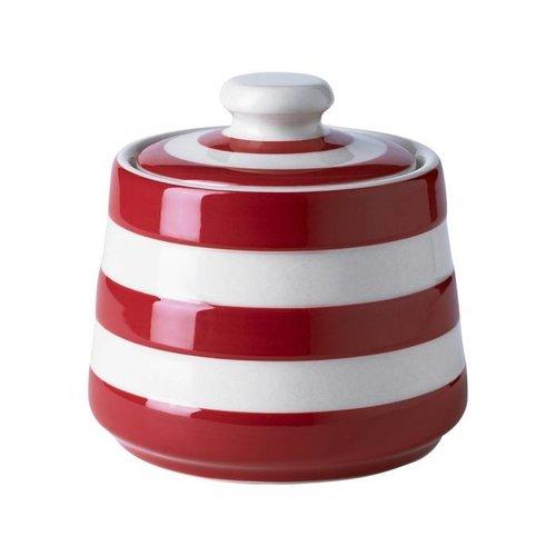 Cornishware Cornishware Covered Sugar Bowl - Red