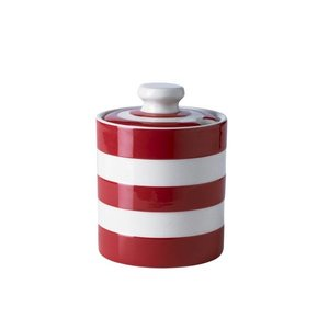 Cornishware Honey & Marmalade Jar - Red