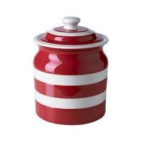 Cornishware Storage Jar 30oz - Red