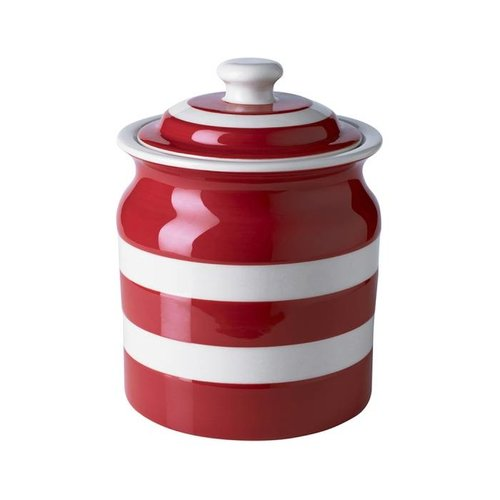 Cornishware Cornishware Storage Jar 30oz - Red