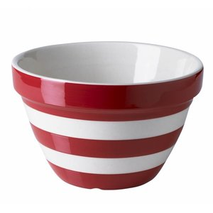 Cornishware Cornishware Pudding Basin - Red
