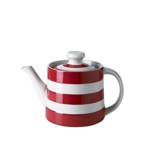 Cornishware Cornishware Teapot 24oz - Red