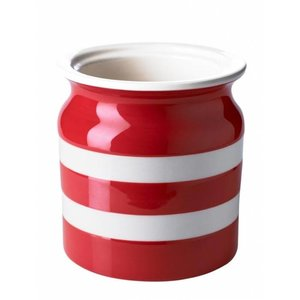 Cornishware Cornishware Utensils Jar 30oz - Red