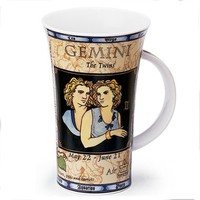 Dunoon Glencoe Zodiac Mug - Gemini